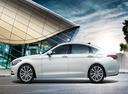 Фото авто Hyundai Genesis 2 поколение, ракурс: 90 цвет: белый