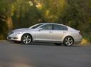 Фото авто Lexus GS 3 поколение [рестайлинг], ракурс: 90 цвет: серебряный