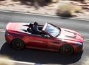 Фото авто Aston Martin Vantage 3 поколение [2-й рестайлинг], ракурс: 270 цвет: красный