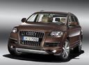 Фото авто Audi Q7 4L [рестайлинг], ракурс: 45 цвет: коричневый
