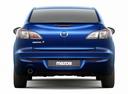 Фото авто Mazda 3 BL [рестайлинг], ракурс: 180 - рендер цвет: синий