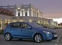 Фото авто Kia Cee'd 1 поколение [рестайлинг], ракурс: 315 цвет: синий