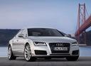 Фото авто Audi A7 4G, ракурс: 315 цвет: серый
