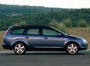 Фото авто Ford Focus 2 поколение, ракурс: 270 цвет: синий