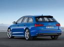 Фото авто Audi S6 C7 [рестайлинг], ракурс: 135 цвет: голубой