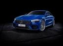 Фото авто Mercedes-Benz AMG GT C190 [рестайлинг], ракурс: 45 цвет: синий