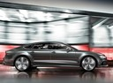 Фото авто Audi RS 7 4G [рестайлинг], ракурс: 270 цвет: серый
