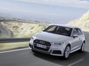 Фото авто Audi A3 8V [рестайлинг], ракурс: 45 цвет: серебряный