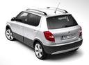 Фото авто Skoda Fabia 5J [рестайлинг], ракурс: 135 цвет: серебряный