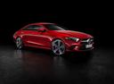 Фото авто Mercedes-Benz CLS-Класс C257, ракурс: 315 цвет: красный