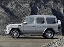 Фото авто Mercedes-Benz G-Класс W463 [2-й рестайлинг], ракурс: 90 цвет: серебряный