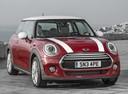 Фото авто Mini Cooper F56, ракурс: 315 цвет: красный
