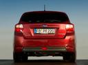 Фото авто Subaru Impreza 4 поколение [рестайлинг], ракурс: 180 цвет: красный