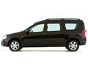 Фото авто ВАЗ (Lada) Largus 1 поколение, ракурс: 90 - рендер цвет: коричневый