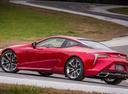Фото авто Lexus LC 1 поколение, ракурс: 90 цвет: красный