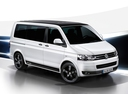 Фото авто Volkswagen Multivan T5 [рестайлинг], ракурс: 315 цвет: белый