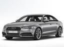 Фото авто Audi S6 C7 [рестайлинг], ракурс: 45 цвет: серый