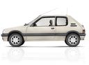 Фото авто Peugeot 205 1 поколение [рестайлинг], ракурс: 90