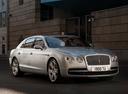 Фото авто Bentley Flying Spur 1 поколение, ракурс: 315 цвет: белый