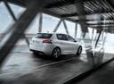 Фото авто Peugeot 308 T9 [рестайлинг], ракурс: 225 цвет: белый