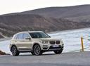 Фото авто BMW X3 G01, ракурс: 315 цвет: бежевый