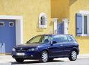 Фото авто Nissan Almera N16 [рестайлинг], ракурс: 45 цвет: синий