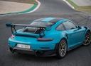 Фото авто Porsche 911 991 [рестайлинг], ракурс: 225 цвет: аквамарин