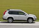 Фото авто Nissan X-Trail T31 [рестайлинг], ракурс: 270 цвет: серебряный