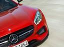 Фото авто Mercedes-Benz AMG GT C190, ракурс: передняя часть цвет: красный