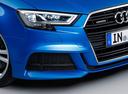Фото авто Audi A3 8V [рестайлинг], ракурс: передняя часть цвет: синий