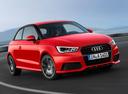 Фото авто Audi A1 8X [рестайлинг], ракурс: 315 цвет: красный