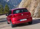 Фото авто Volkswagen Polo 5 поколение [рестайлинг], ракурс: 180 цвет: красный