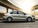 Фото авто Volkswagen Polo 5 поколение, ракурс: 270 цвет: серебряный