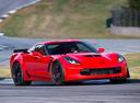 Фото авто Chevrolet Corvette C7, ракурс: 315 цвет: красный