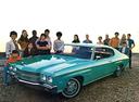 Фото авто Chevrolet Chevelle 2 поколение [2-й рестайлинг], ракурс: 45