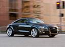 Фото авто Audi TT 8J [рестайлинг], ракурс: 270 цвет: черный