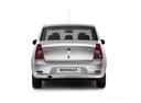 Фото авто Renault Logan 1 поколение [рестайлинг], ракурс: 180 цвет: серебряный