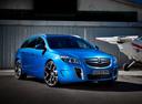 Фото авто Opel Insignia A, ракурс: 315 цвет: голубой
