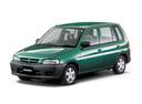Фото авто Mazda Demio DW, ракурс: 45 цвет: зеленый