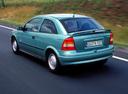 Фото авто Opel Astra G, ракурс: 135 цвет: зеленый
