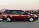 Фото авто Ford Focus 2 поколение, ракурс: 270 цвет: бордовый