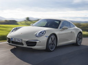 Фото авто Porsche 911 991, ракурс: 45 цвет: белый