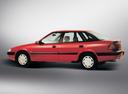 Фото авто Daewoo Espero KLEJ [рестайлинг], ракурс: 90 цвет: красный