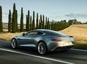 Фото авто Aston Martin Vanquish 2 поколение, ракурс: 135 цвет: серый