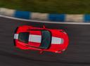Фото авто Chevrolet Corvette C7, ракурс: сверху цвет: красный