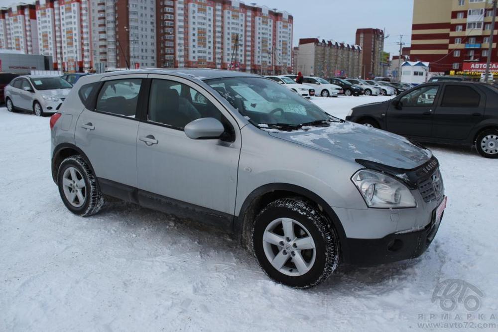 Nissan Qashqai с пробегом, серебряный , отличное состояние, 2009 года выпуска, цена 630 000 руб. в автосалоне  ()