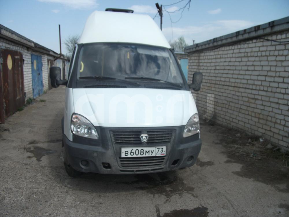 Подержанный ГАЗ Газель, хорошее состояние, белый , 2014 года выпуска, цена 490 000 руб. в Ульяновске