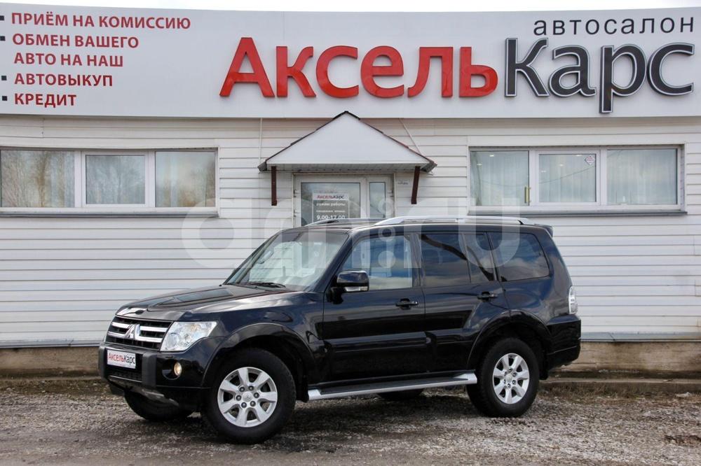 Mitsubishi Pajero с пробегом, черный , отличное состояние, 2011 года выпуска, цена 1 199 000 руб. в автосалоне Аксель Карс (Киров, ул. Ломоносова, д. 3Б)