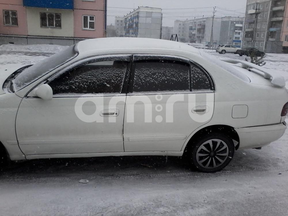 Подержанный Toyota Corona, среднее состояние, белый , 1992 года выпуска, цена 100 000 руб. в Кемеровской области