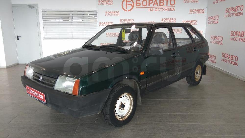 ВАЗ (Lada) 2109 с пробегом, зеленый , отличное состояние, 2003 года выпуска, цена 45 000 руб. в автосалоне  ()